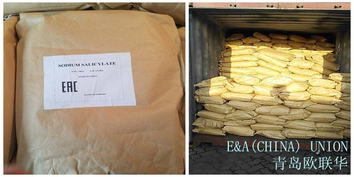 Фото салицилата натрия в упаковке от компании EAUnion