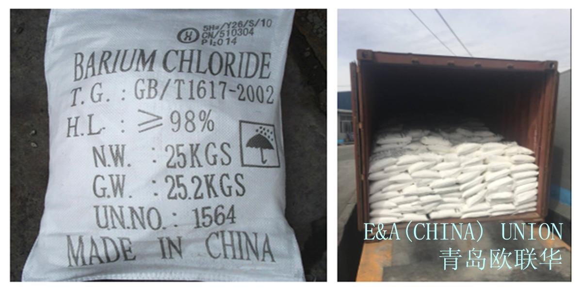 Photo Barium Chloride in packaging companies EAUnion