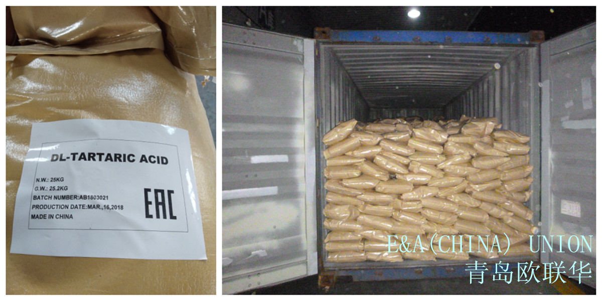 Photo DL-tartaric acid in the package from the company EAUnion