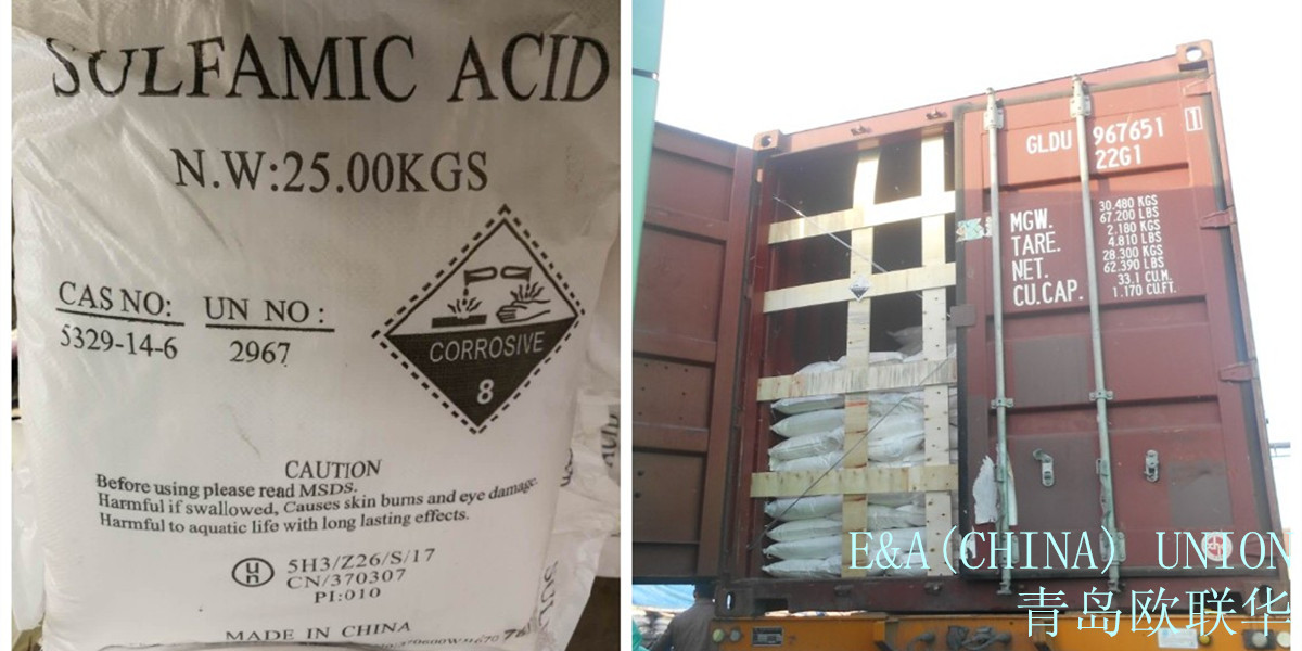 Photos of Sulfamic Acid in the package from the company EAUnion